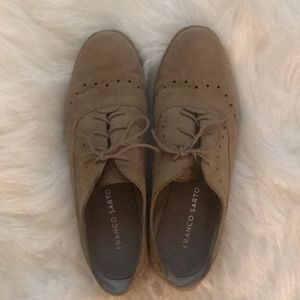 Franco Sarto lace up loafers